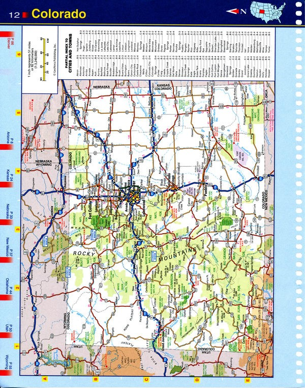 southwest maine map - southwest maine road map
