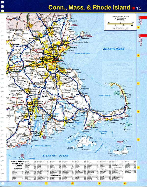 Region Maine Map - Map maine usa