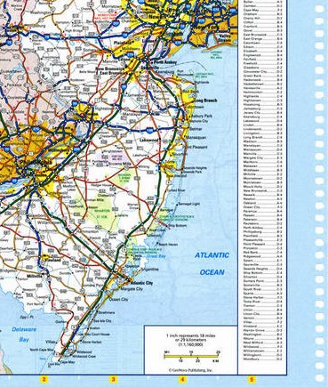 Southwest Pennsylvania map on