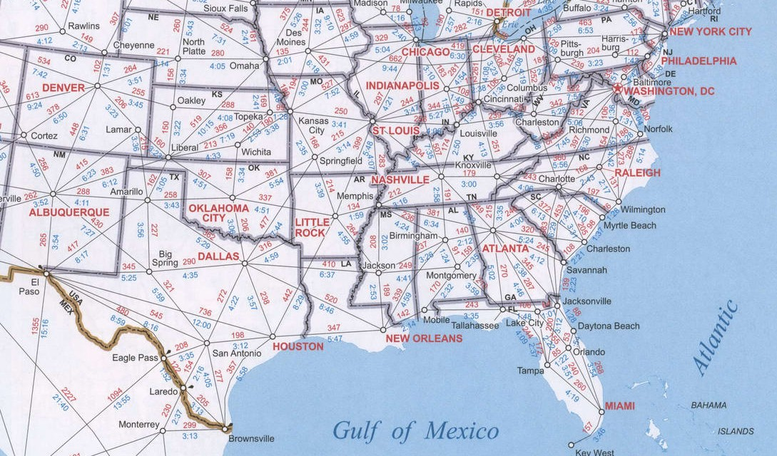 Maps Of Southern Region United States Map Of Usa