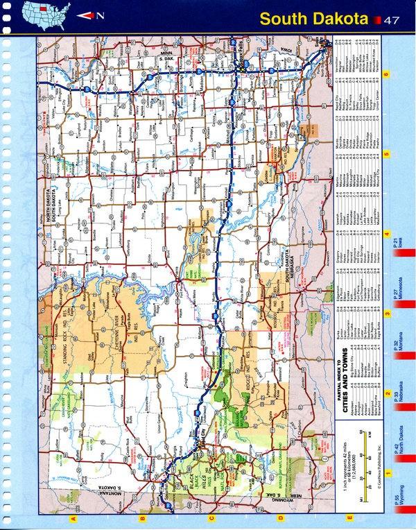 North West Virginia map