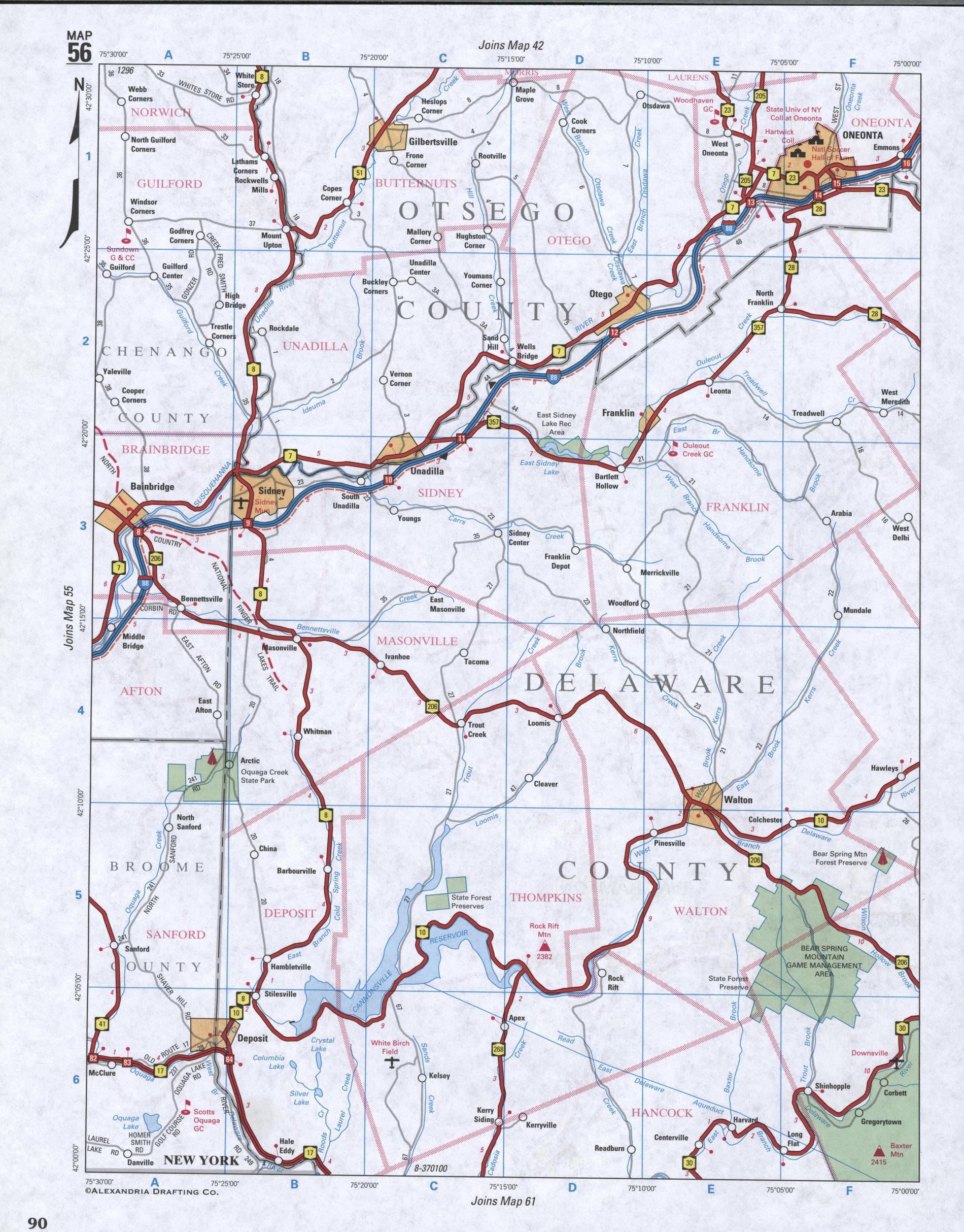Large Detailed Map Of Western septic tank drainfield repair diagram