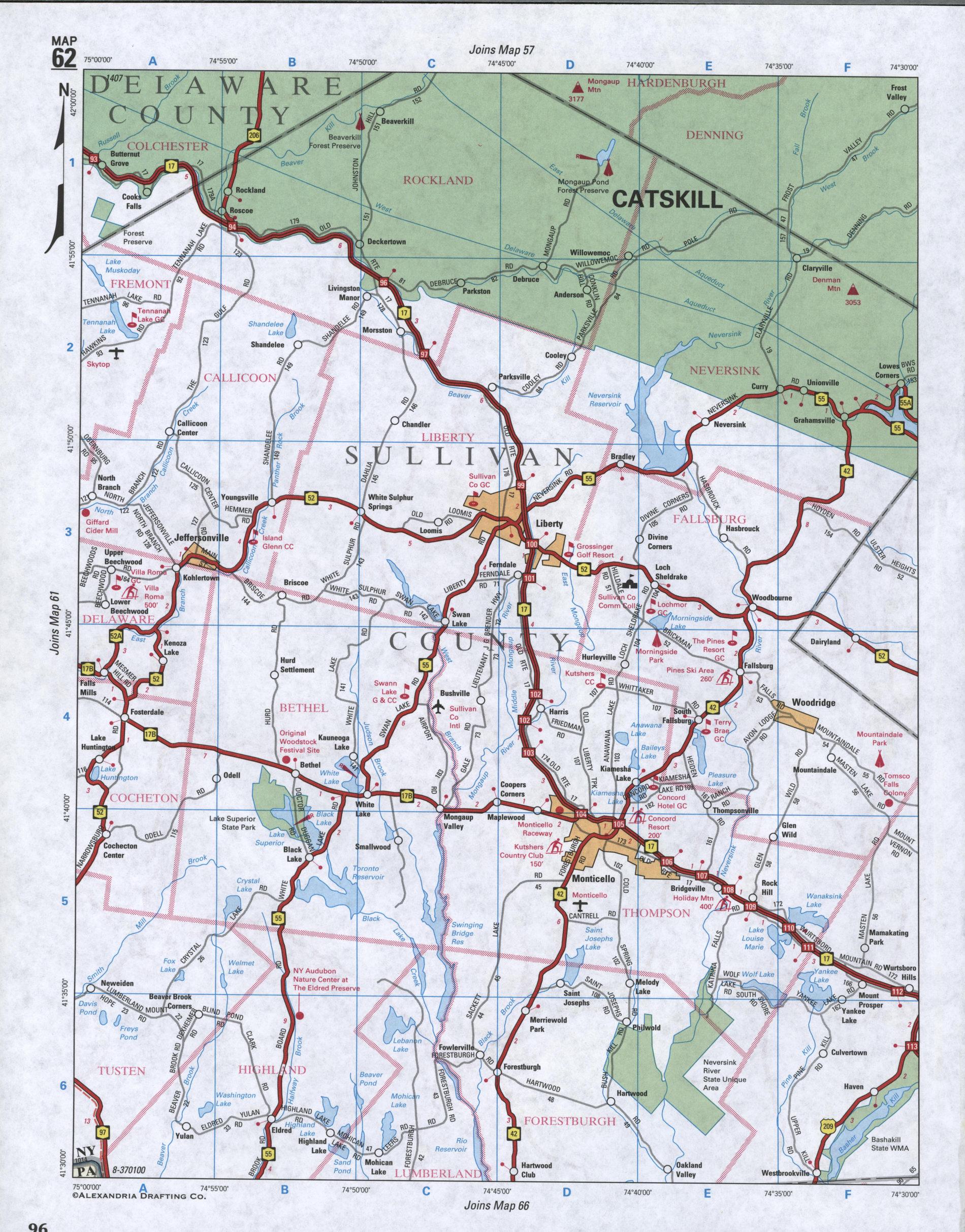 Eastern Staten Island map